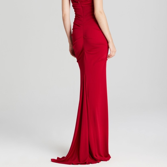 Nicole Miller Dresses   Nichole Miller Jersey Gown   Poshmark